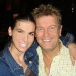 Dimitra and Jimmy Barnes