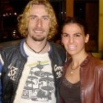Dimitra and Chad Kroeger (Nickelback)